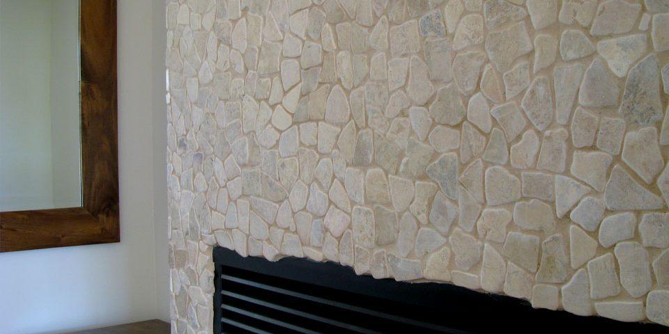 Mosaic Fireplace Zen Paradise