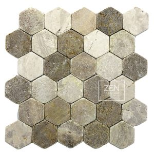 Hexagon Beach Mix Tile