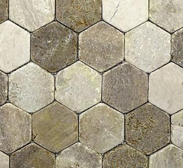 Zen Paradise Hexagon Tile